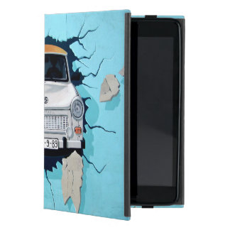 Car crosses a wall case for iPad mini