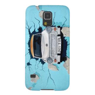 Car crosses a wall galaxy s5 cover