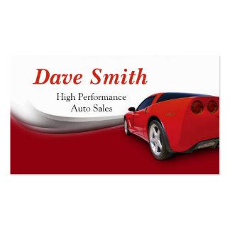 Car Detailer and Service Business Card Templates