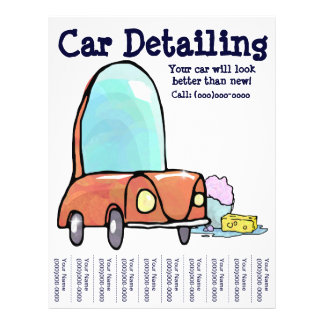 Car Detailing! Flyer