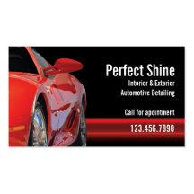 Car Detailing Pack Of Standard Business Cards