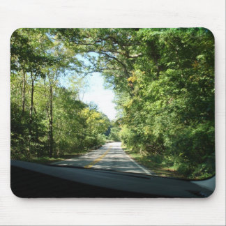 Car Driving Mouse Pad