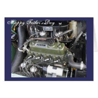 Car Engine Card