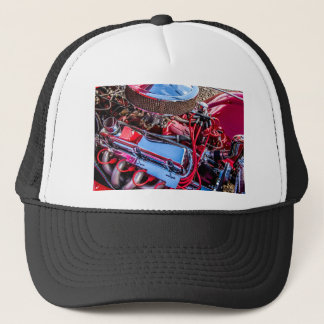 Car Engine Hat/Cap Trucker Hat