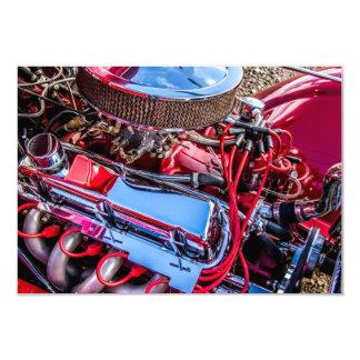 Car Engine Invitation
