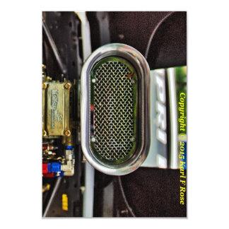 Car engine invitations