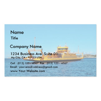 Car Ferry Ship Pack Of Standard Business Cards