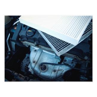 Car filters photo print