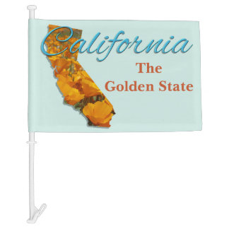 Car Flag - CALIFORNIA