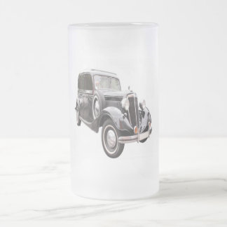 CAR FROSTED GLASS MUG