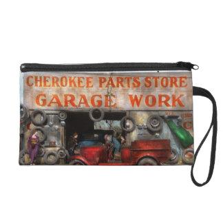 Car - Garage - Cherokee Parts Store - 1936 Wristlet Purses