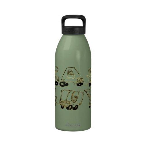 Car Guy Liberty Bottle Water Bottle