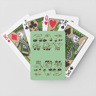 Car Guy Playing Cards