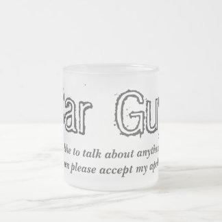 Car Guy Talk Frosted Glass Mug