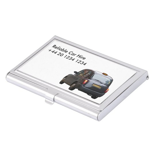 Car Hire Taxi Business Card Holder