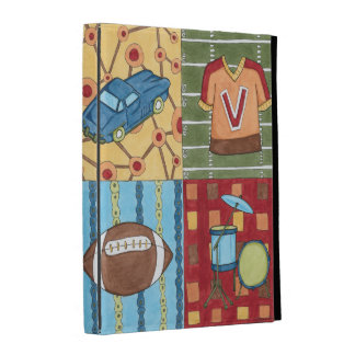 Car, Jersey, Football and Drum Kit iPad Cases