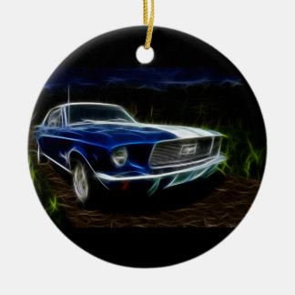 Car lighting christmas ornament