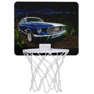 Car lighting mini basketball hoop