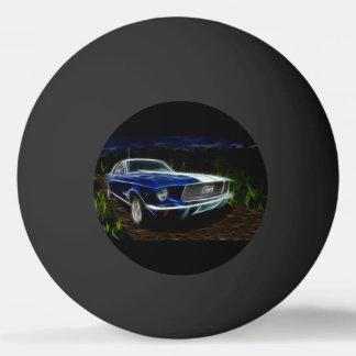 Car lighting ping pong ball