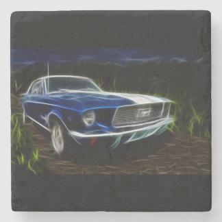 Car lighting stone coaster