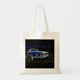 Car lighting tote bag