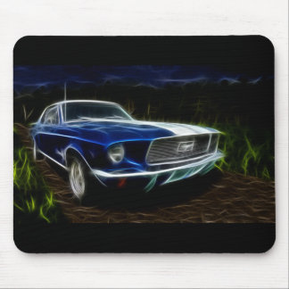 Car lightning mouse mat