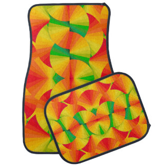 Car Mats - Citrus Fans Floor Mat