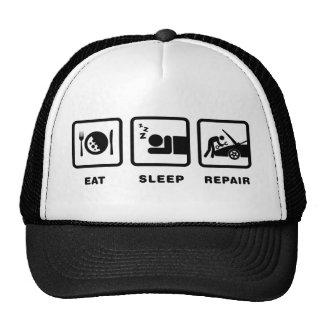 Car Mechanic Trucker Hats