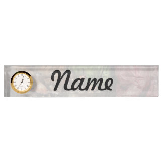 Car Mechanic - In a mothers care 1900 Desk Name Plate