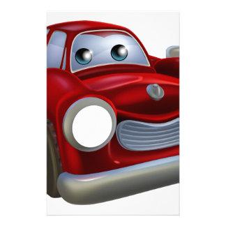 Car mechanic stationery design