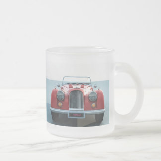 Car MorganGrill3 - Customized Frosted Glass Mug