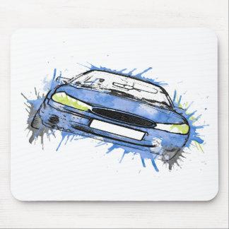 car mouse pads