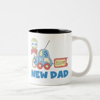 Car New Dad It s a Boy Coffee Mugs
