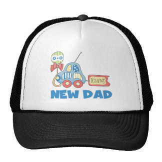 Car New Dad It's a Boy Cap
