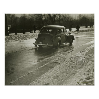 Car on the Road Poster