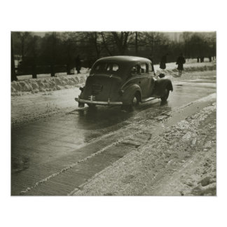 Car on the Road Print