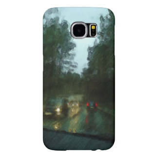 Car on the road samsung galaxy s6 cases