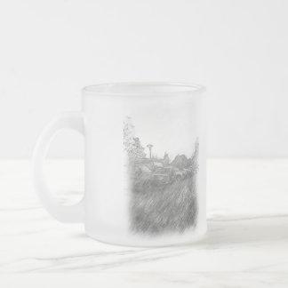 car parking coffee mug