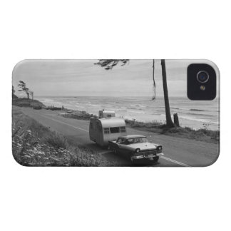 Car Pulling Trailer iPhone 4 Case-Mate Cases