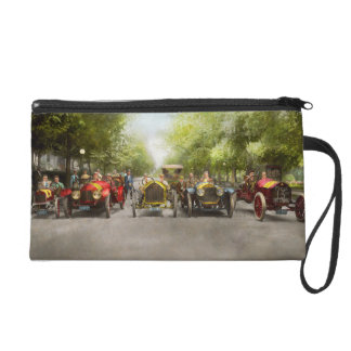 Car - Race - Hold on to your hats 1915 Wristlet Clutches