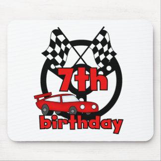 Car Racing 7th Birthday Mouse Pad