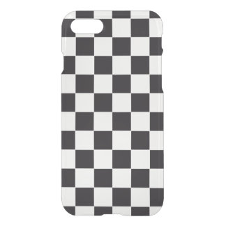 Car Racing / Chess Pattern + your backgr. & ideas iPhone 7 Case