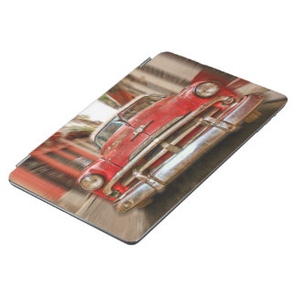 Car racing in the streets of old Havana, Cuba iPad Air Cover