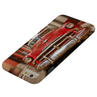 Car racing in the streets of old Havana, Cuba Tough iPhone 6 Plus Case