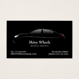 Car rental business cards business card printing zazzle uk car rental business card reheart