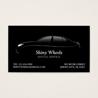 Car rental business cards business card printing zazzle uk car rental business card reheart Image collections