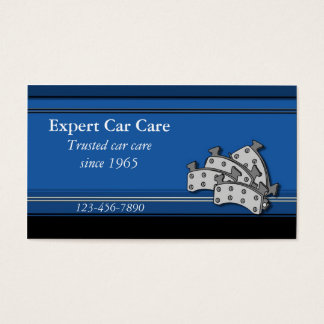 Car Repair Shop Business Card