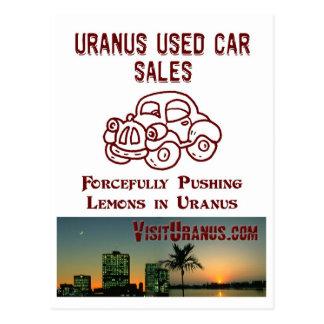 Car Sales Postcard