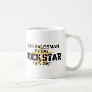 Car Salesman Rock Star Coffee Mug