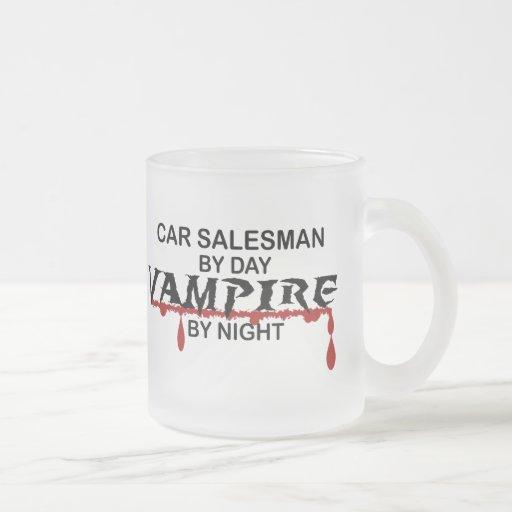 Car Salesman Vampire by Night Coffee Mugs